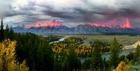 SNAKE RIVER OVERLOOK, WYOMING